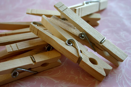 Blog clothes pins