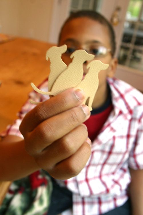 Blog dog treats cutouts