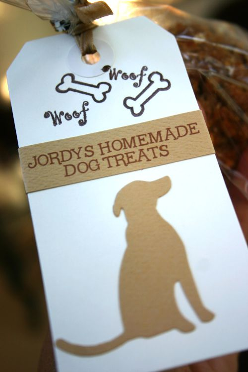 Blog dog treats tag