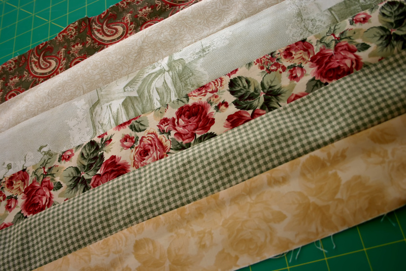 Blog_green_toile_strips_sewn
